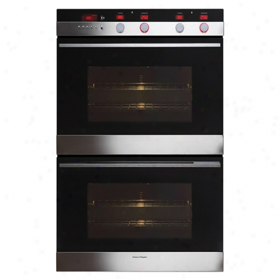 Fisher And Paykel Double 30  Built In Oven