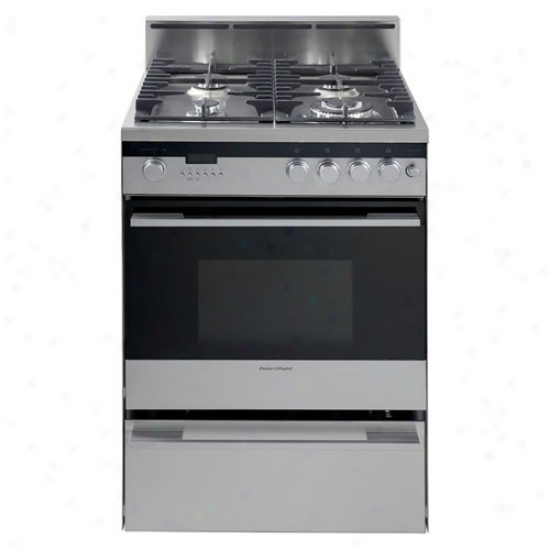 Fisher & Paykel 24  Stainless Steel Range