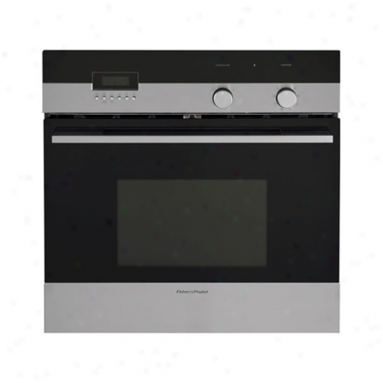 Fisherman & Paykel 24in Pyrolytic Self Clean Single Oven