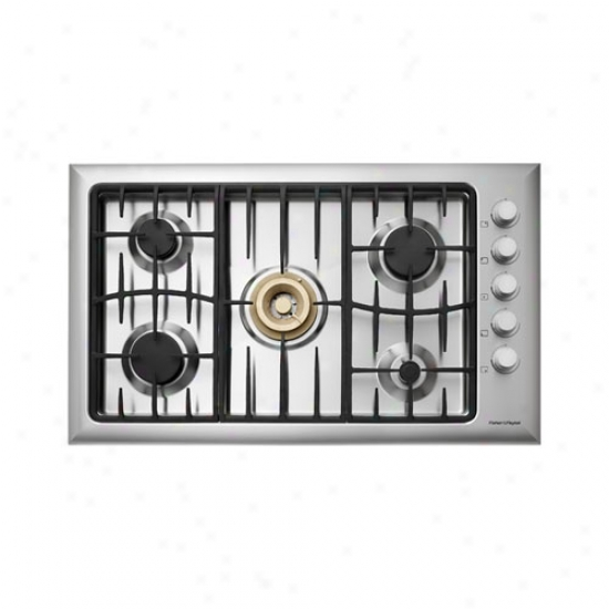 Fisher & Paykel 36  Stainless Steel Innovalve Cooktop