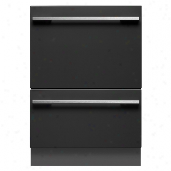 Fisher & Paykel Tall Double Dishdrawer Energy Fate Dishwasher
