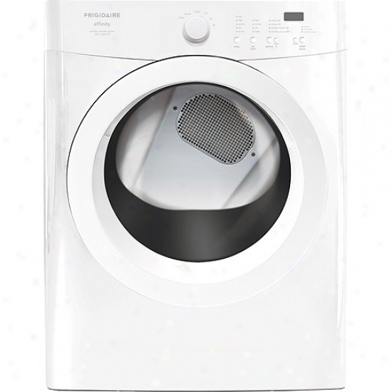 Frigidaire Affinity S3ries Stackable Electric Front-load Dryer With Silentdesign