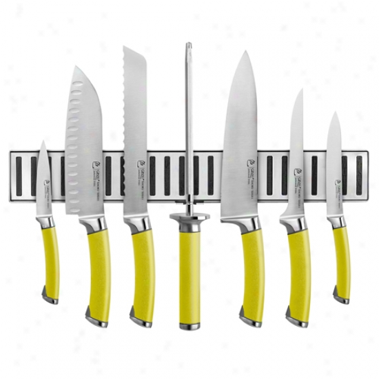 Ginsu Shoku Spiced Pear 8 Piece Set W/ Magnetic Strip