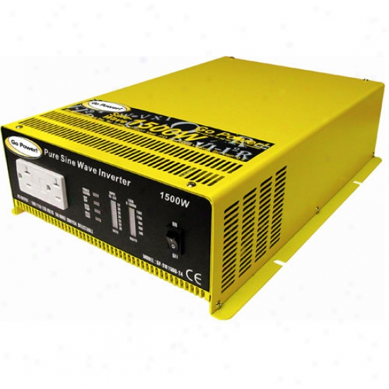 Go Power! 2000 Watt Pure Sine Wave Inverter 24v