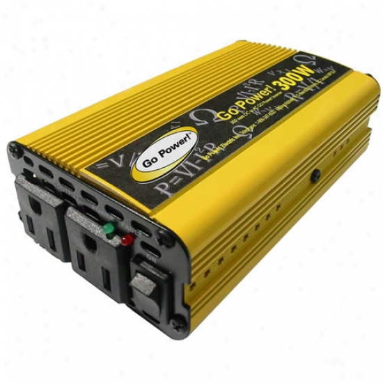 Bottom Power!! 300 Watt Modified Sine Wave Inverter 12v