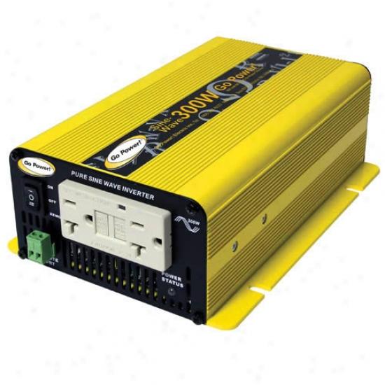 Walk Power! 300 Watt Pure Sine Wave Inverted 24v