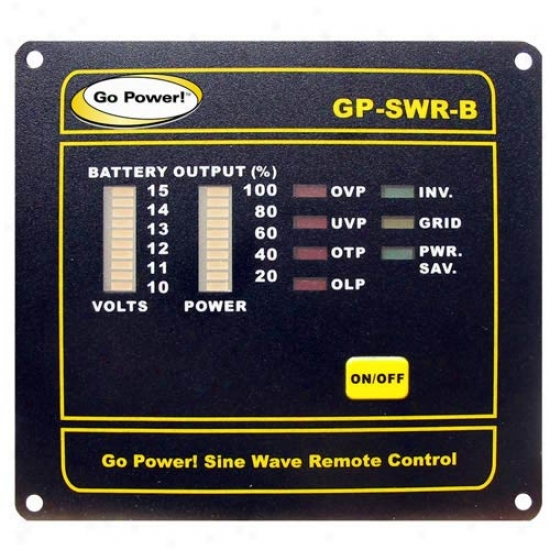 Go Power! Remote For The 24v Gp-sw1000, 2000, & 3000