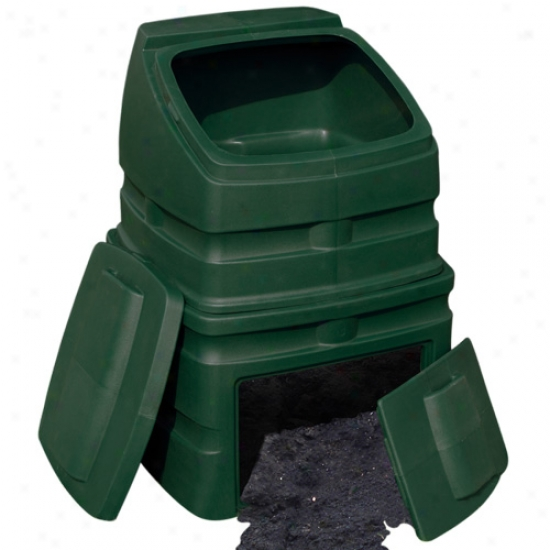 Good Ideas Compost Wizard Standing Bunker - Green