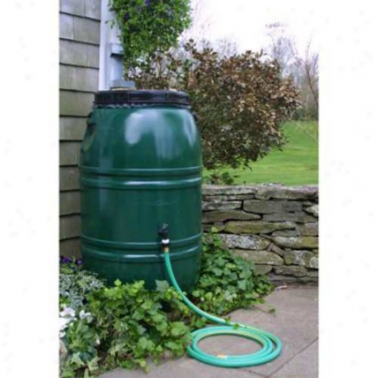 Great American 60 Gallon Rain Barrel - Forest Green