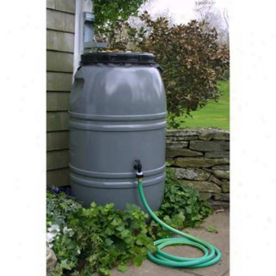 Great American 60 Gallon Rain Barrel - Nantucket Gray
