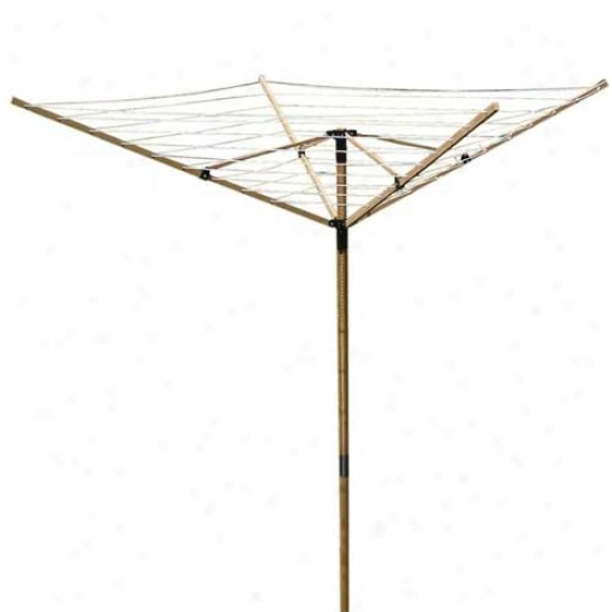 Greenway Home Deluxe Bamboo Fold Absent Clothes Line