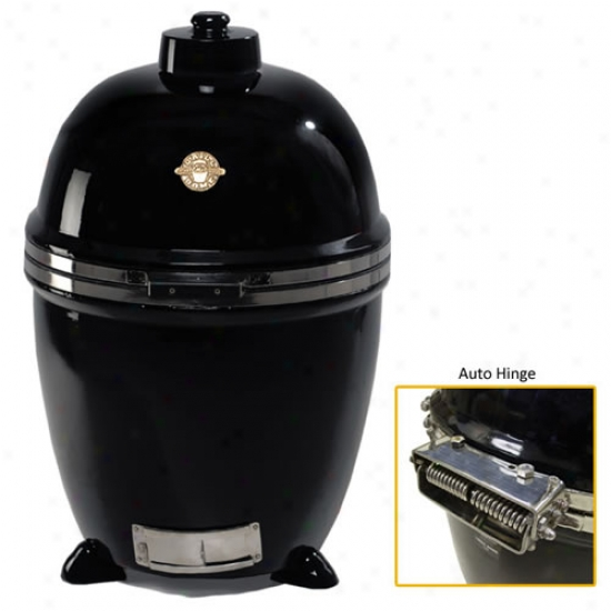 Grill Dome Infinity Series Kamado Broil - Large - Blck