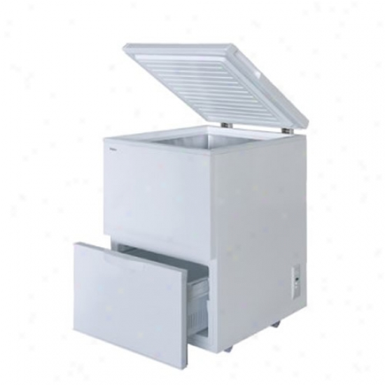 Haier 5.1 Cu. Ft. Freezer W/ Pullout Drwwer