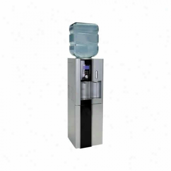 Haier Hot/cold Water Dispenser W/ Drip Tray And Storage Division