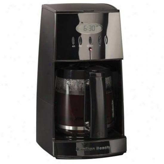Hamilton Beach Bpack Ice 12 Cup Coffeemaker