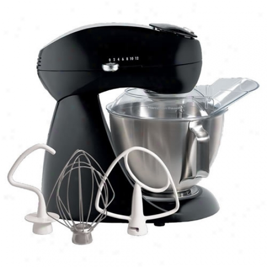 Hamilton Beach Eclectrics Licorice All Metal Stand Mixer