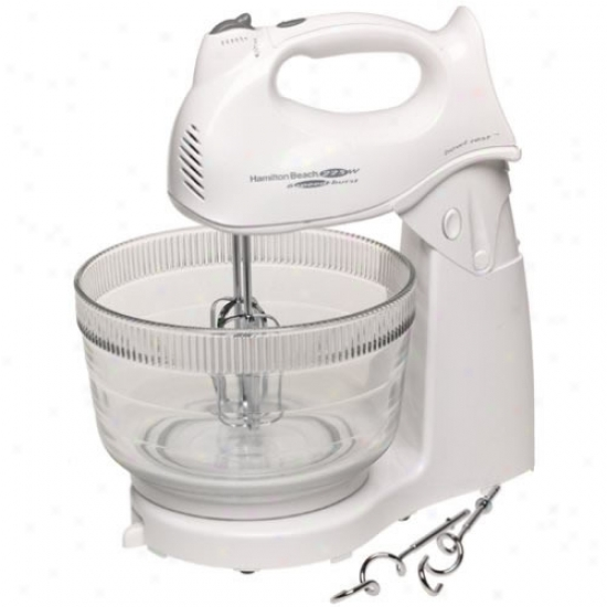 Hamilton Beach Power Deluxe Hand Or Stand Mixer