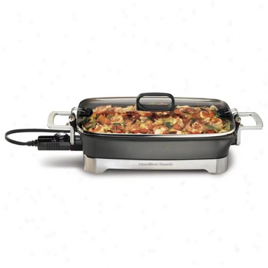 Hamilton Beach Premiere Cookware Electric Skillet