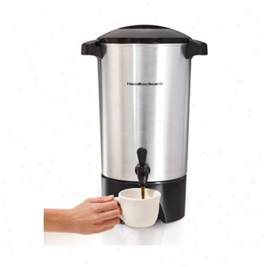 Hamiltton Beach Stainless Steel 42 Cup Coffee Urn