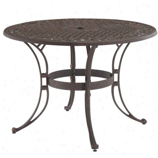 Home Styles 42  Round Outdoor Dining Table