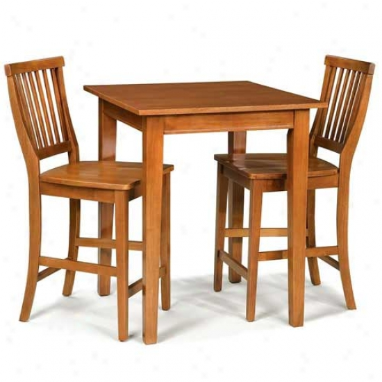 Home Styles Arts And Crafts 3 Piece Bistro Place