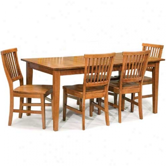 Home Styles Arts And Crafts 5 Composition Dining Set