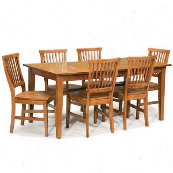 Home Styles Arts And Crafts 7 Pieece Dining Set