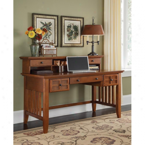 Home Styles Arts And Crats Executive Desk And Hutch