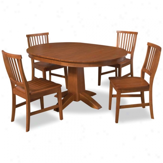 Home Styles Arts And Crafts Five Piece Dining Set