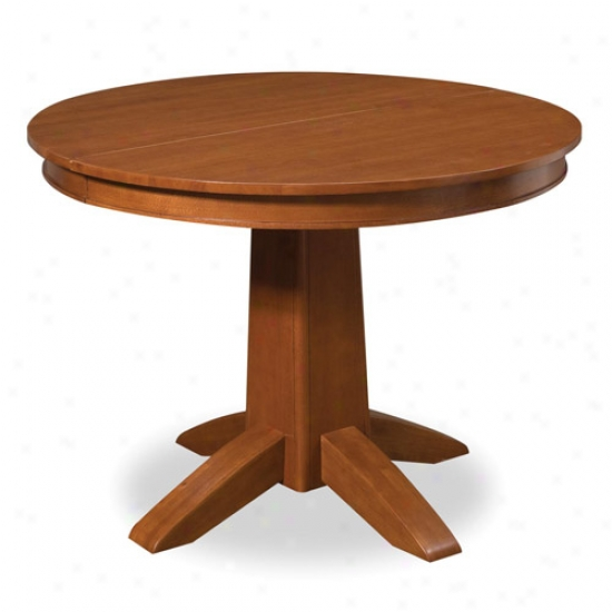 Home Styles Arts And Crafts Round Dining Table