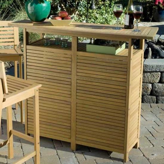 Home Styles Bali Hai Bar Cabinet