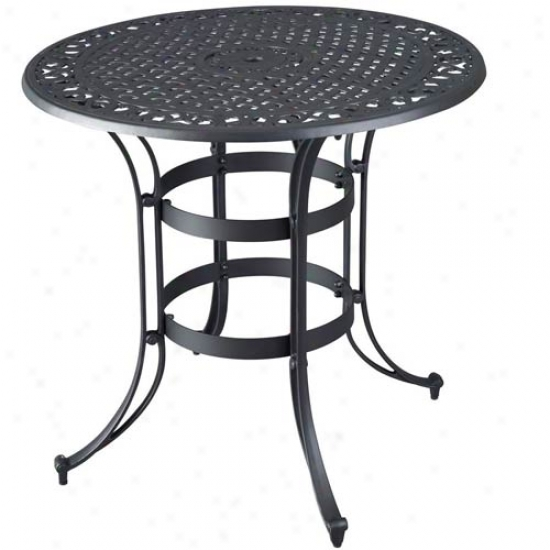 Home Styles Biscayne High Top Outdoor Bistro Table