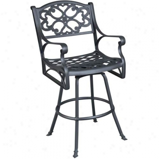 Home Styles Biscayne Outdoor Swivel Stool