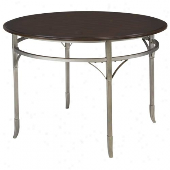 Hpme Styles Bordeaux Round Dining Table