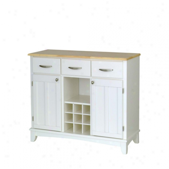 Home Styles Buffet With Wood Top