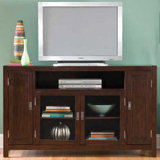 Home Styles City Chic Entertainment Credenza