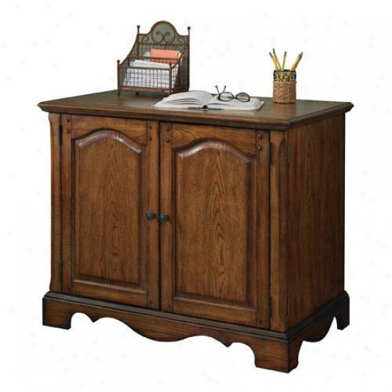 Home Styles Country Casuap Compact Office Cabinet