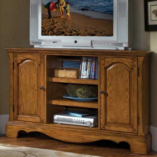 Home Styles Country Casual Corner Entertainment Tv Stand