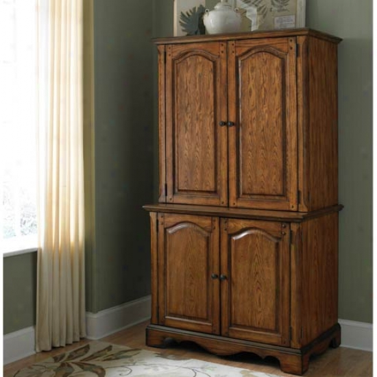Home Styles Country Casual Office Cabinet And Hutch