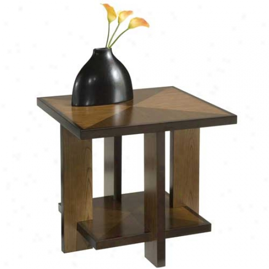 Home Styles Geo Side Table