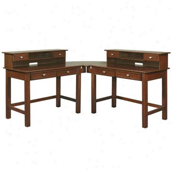 Home Stylse Hanover Corner Desk Unit