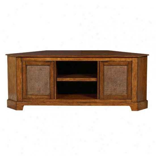 Home Styles Jamaican Bay Corner Console