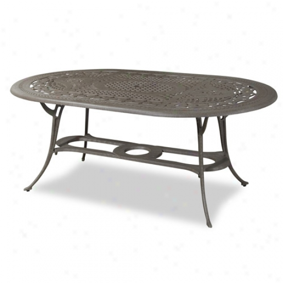 Home Styles Malibu Oval Outdoor Dining Table