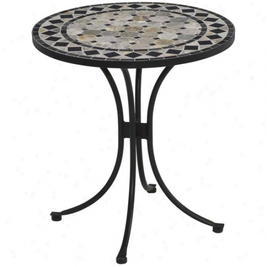 Home Styles Marble Outdoor Bistro Table