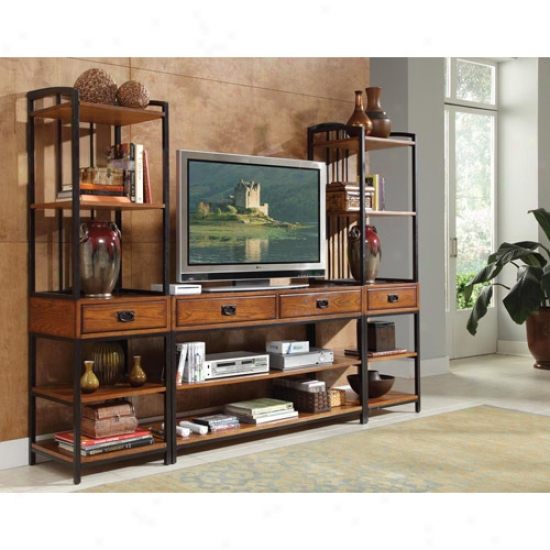 Home Styles Modern Crafts Three Piece Gaming Entertainment Center