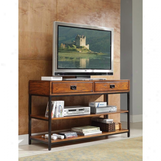 Home Styles Modern Craftsman Meia Console