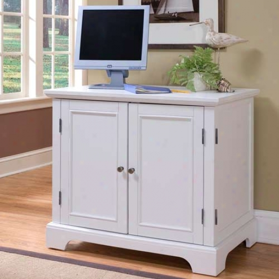 Home Styles Naples Compact Computer Cabinet