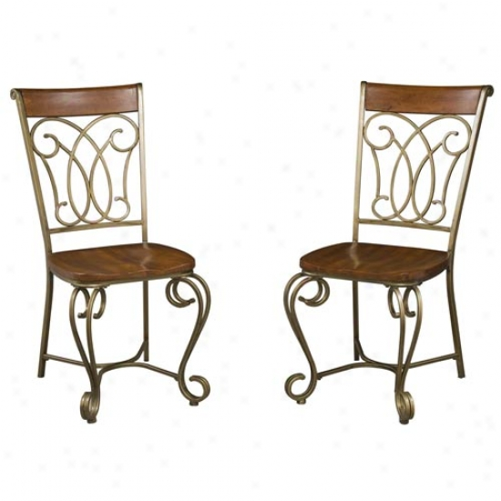 Home Styles St. Ives Dining Chairs (2 Pack)