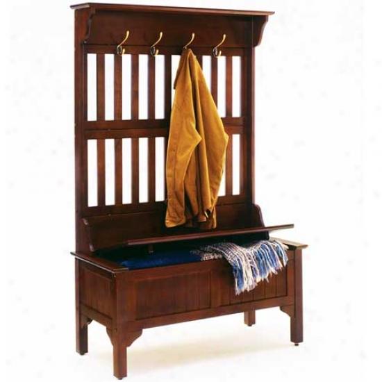 Home Styles Storage Bench