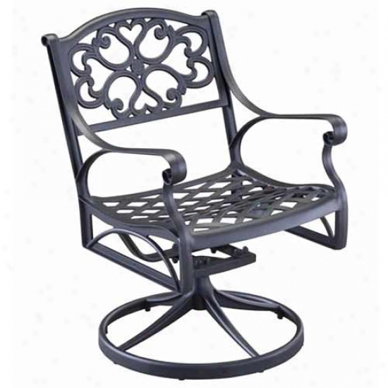 Home Styles Swivel Arm Chair